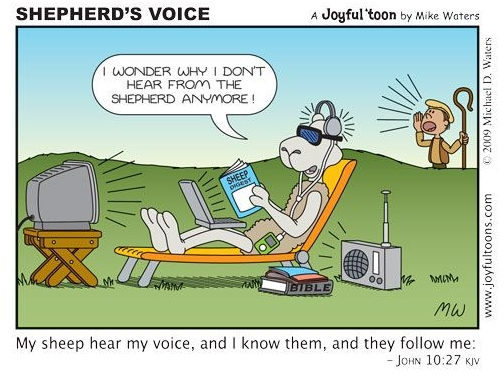 I Wonder Why I Do Not Hear From The Shepherd Anymore! – St
